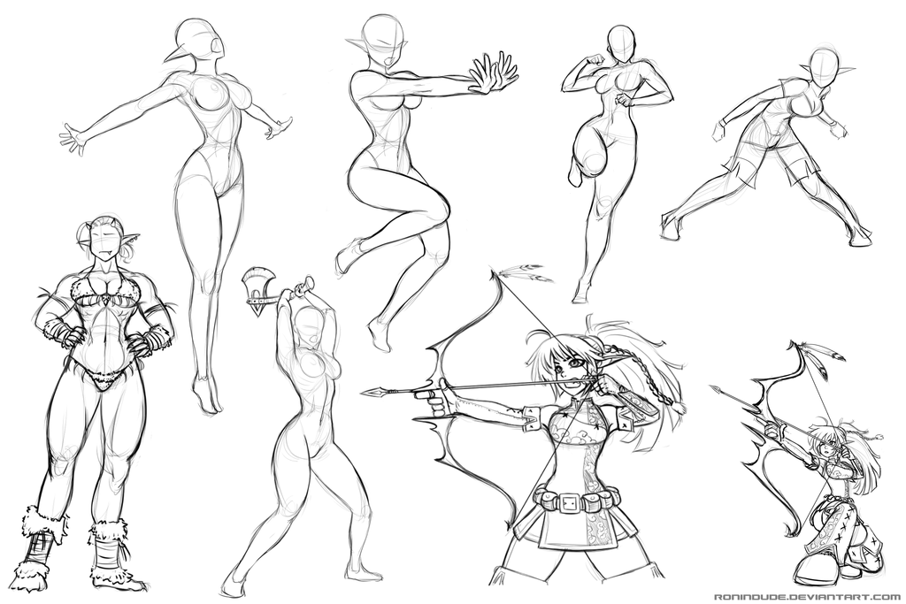 1024x683 Practice Drawing Poses Pose Practice 2014 May 28 Ronindude