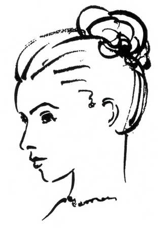 327x450 How To Draw A Head Side Profile Caption Woman's Face, Close Up