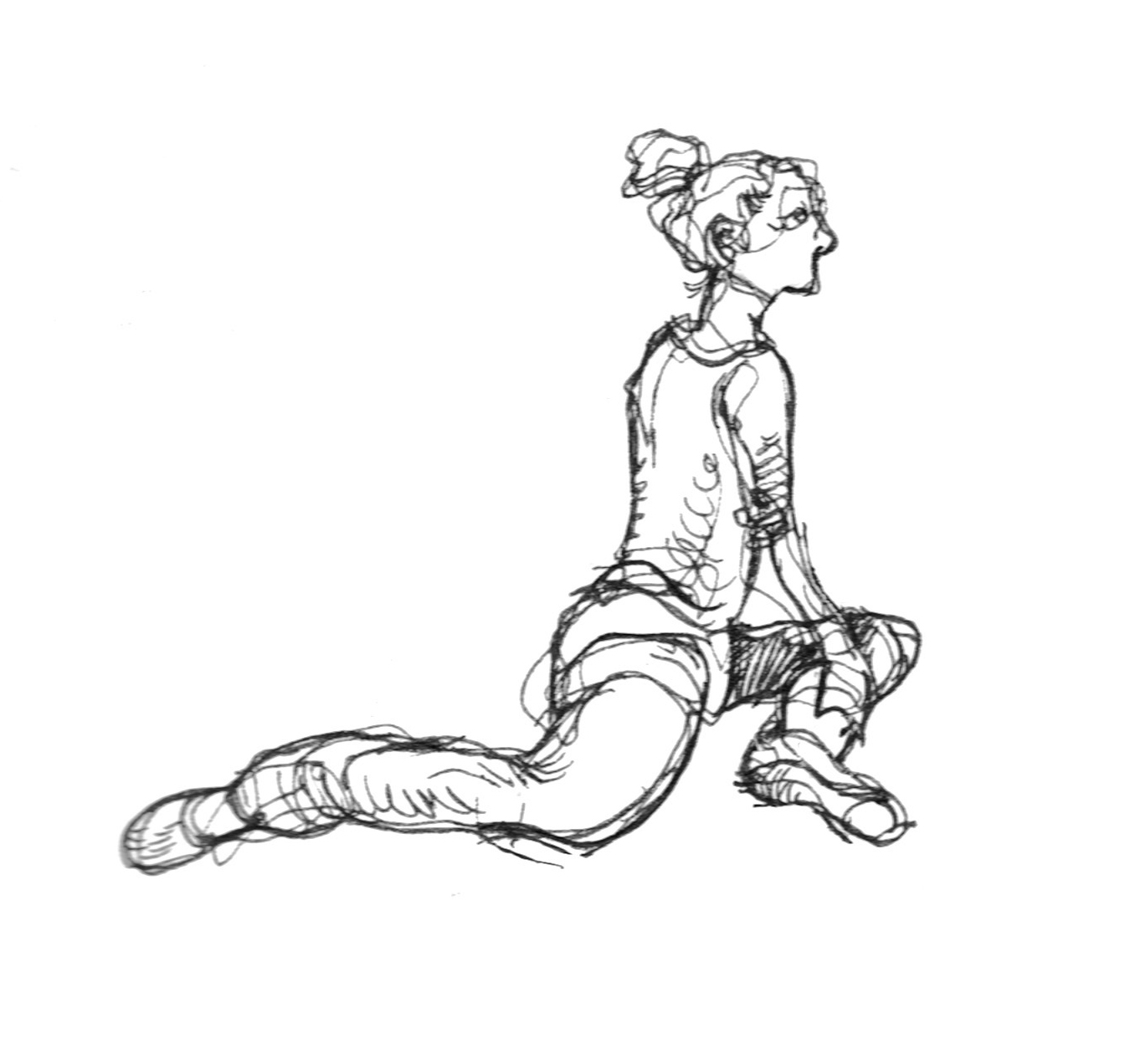 1344x1272 Dai's Reportage Drawing Ballet Dancers