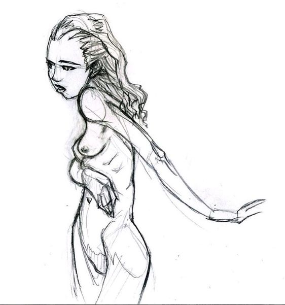 Human Shadow Drawing