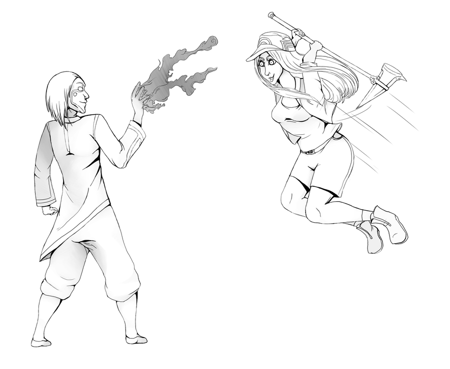 900x739 Shadow Fight Wip By Drpsychokitty