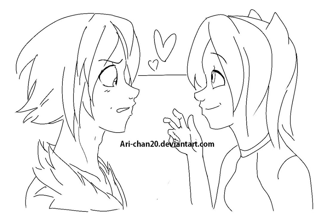 1095x730 Wip Human Shadow And Amy Valentines By Mad Hattress Ari