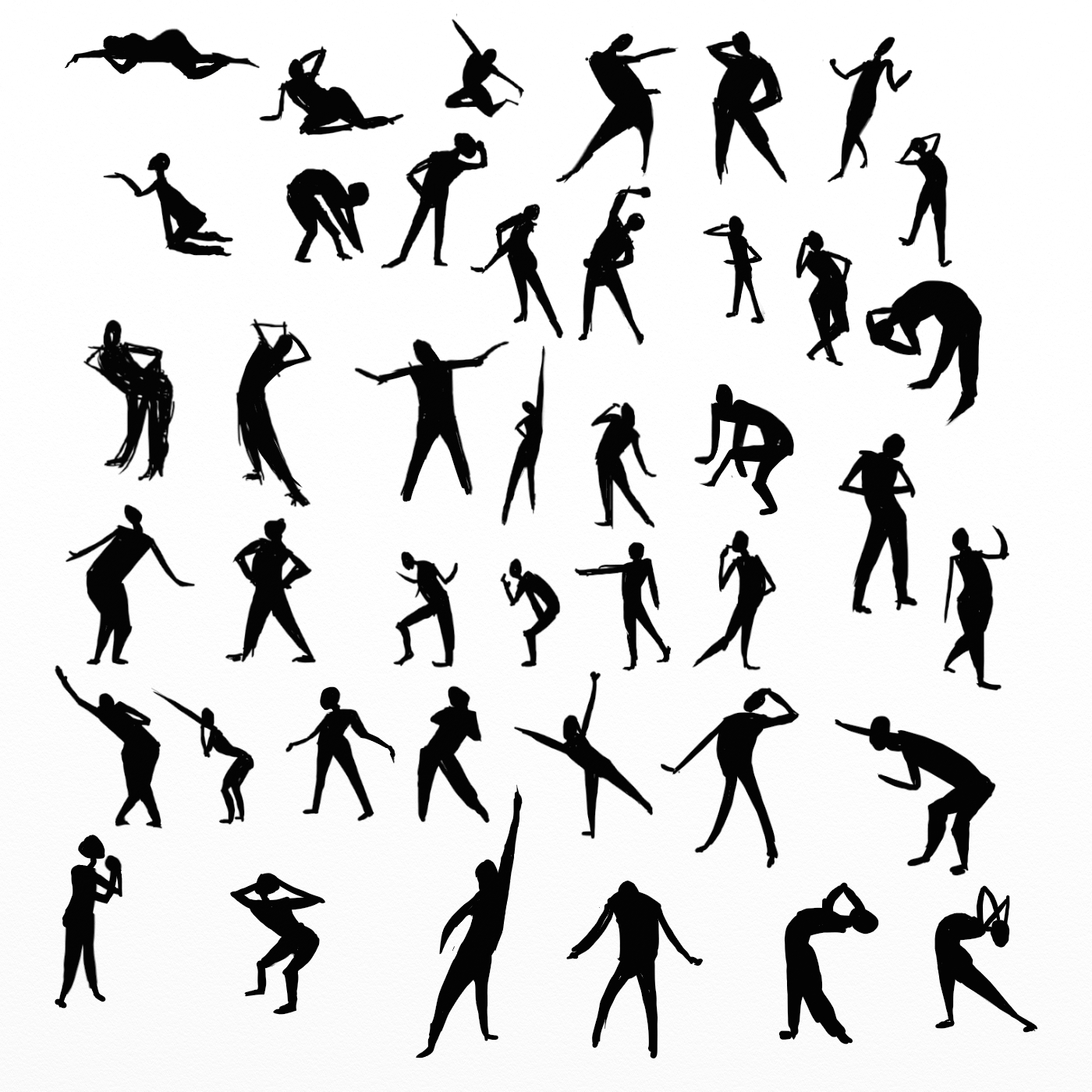 1400x1400 Schoolism Gesture Drawing Weeks 1, 2, Amp 3 Dalrek Davis Art