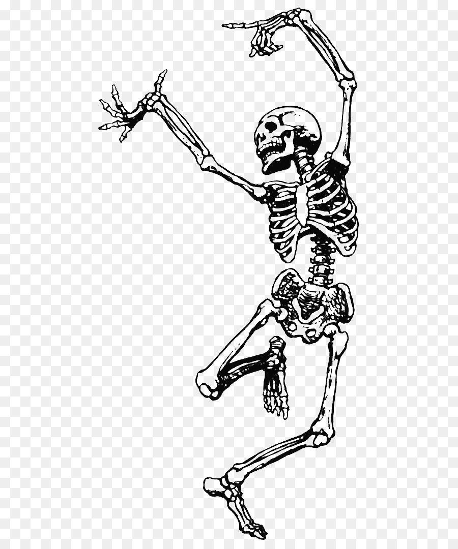 900x1080 Human Skeleton Dance Skull Clip Art