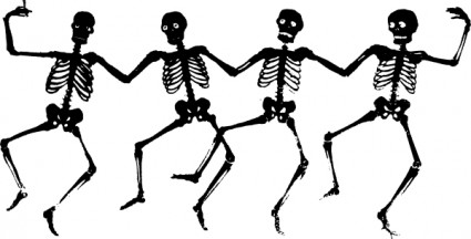 425x216 Human Skeleton Clip Art Free Vector In Open Office Drawing Svg 2