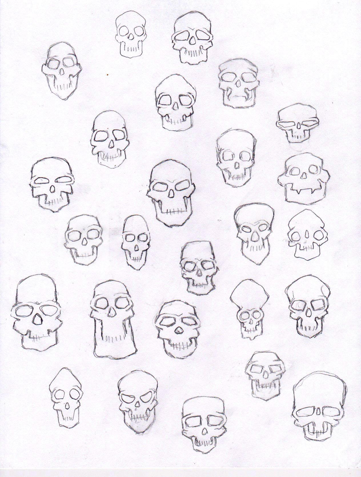 1264x1668 Skulls Doodles, Drawings And Human Drawing