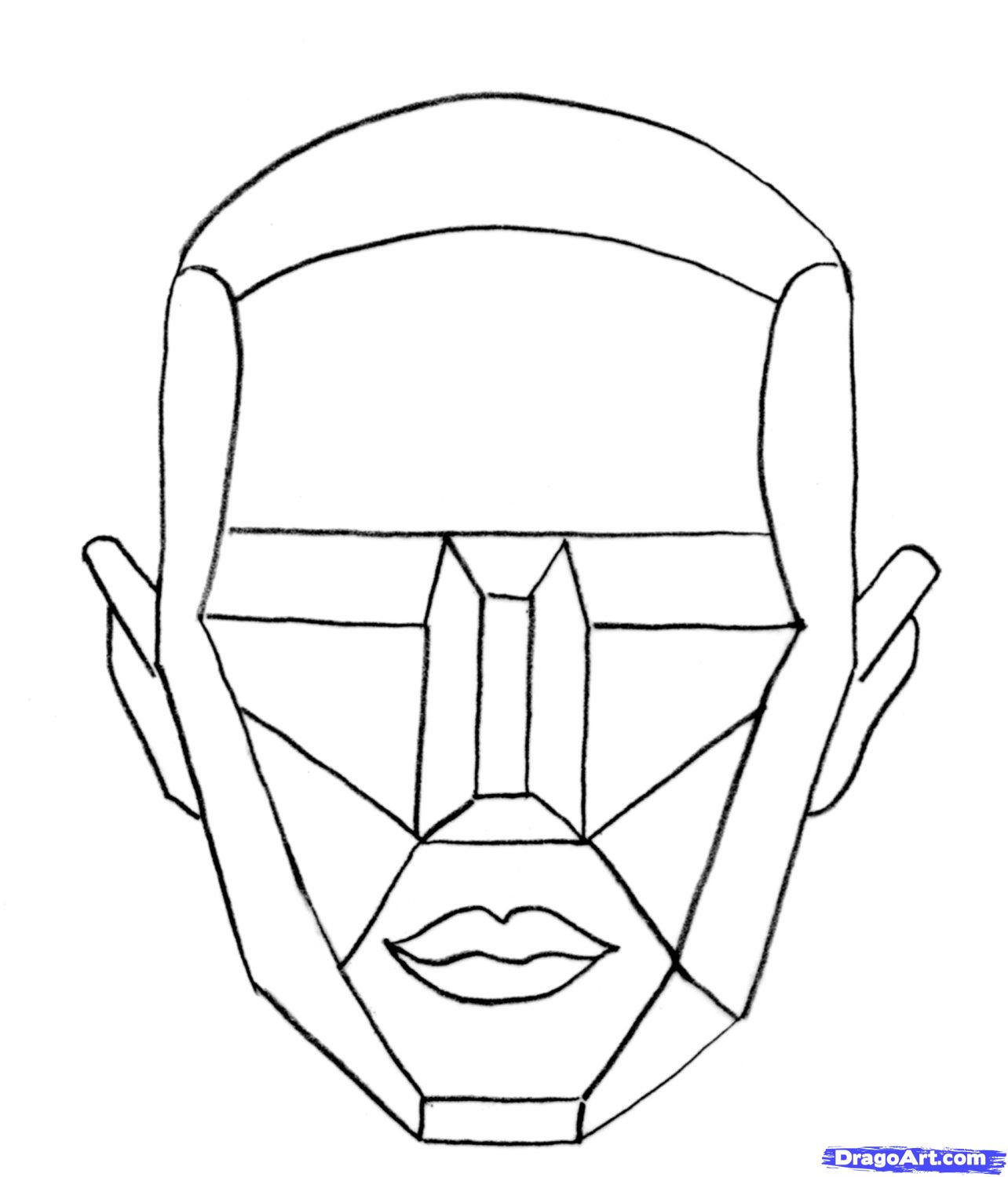 1284x1500 How To Draw The Female Head Tutorial Takes You Step By Step