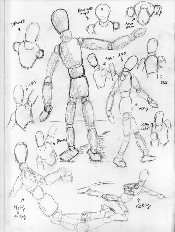 612x812 Learn To Draw Useing Stickman By Westwolf270