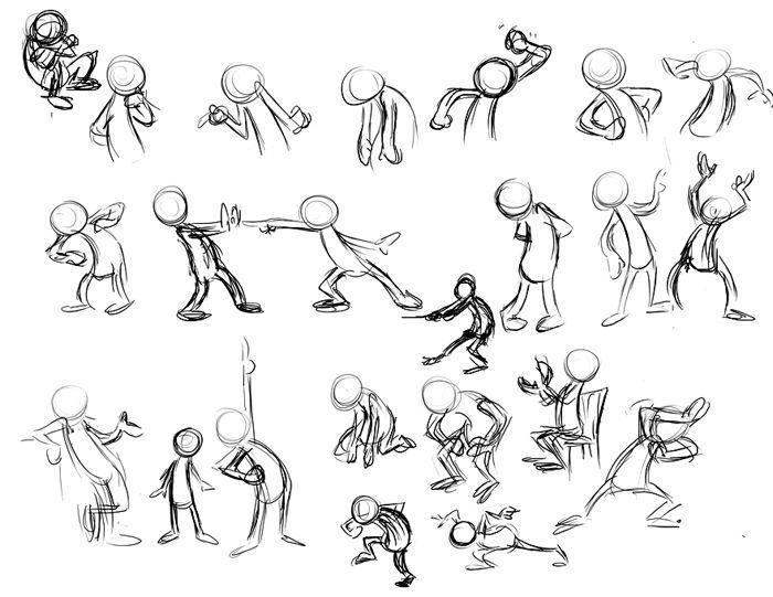 700x541 Thinking Cartoon Sketch