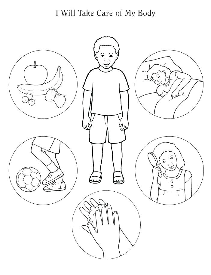 702x914 Body Coloring Pages How To Draw Human Body Coloring Pages Body