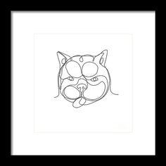 236x236 Human Eye Crying Tears Flowing Drawing Framed Print By Aloysius