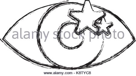 450x253 Human Eye Vector Sketch Stock Vector Art Amp Illustration, Vector