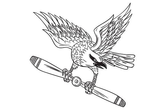 580x386 Shrike Clutching Propeller Blade