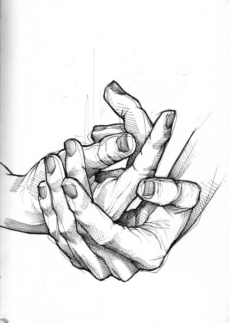 768x1081 Hand Positions Drawing Anatomical Structure Of The Hand