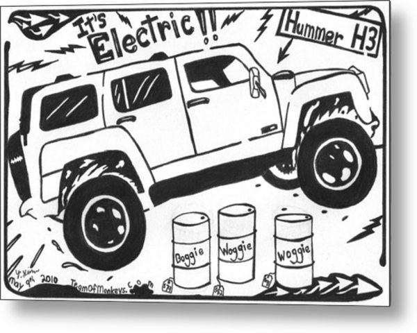 600x480 Electric Hummer Maze Cartoon Drawing By Yonatan Frimer Maze Artist