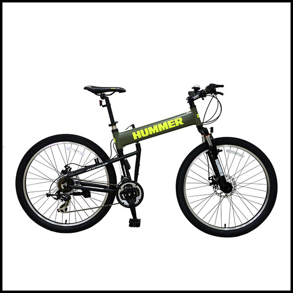 600x600 Hummer Folding Mountain Bike Bicycle New Model All Care