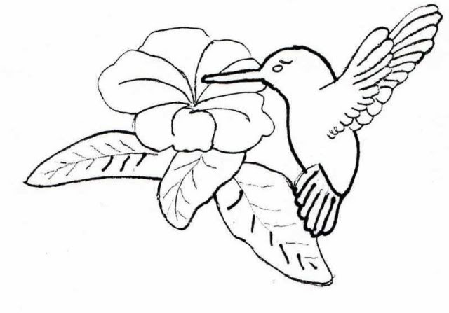 640x447 I'M Sharing This Pattern, The Hummingbird,mp Flower Relief. Plus