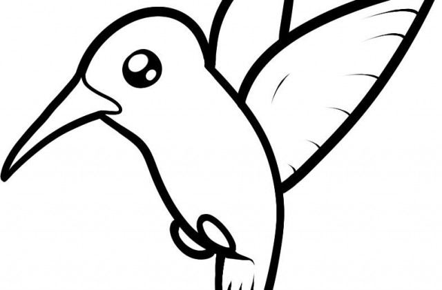 640x420 Tag For Birds Drawing For Kids Bird Coloring Pages For Kids Free