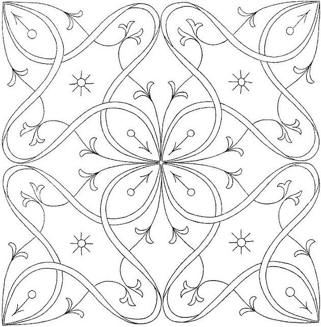 630x642 Cross Coloring Sheets Flower Hummingbird Henna Hummingbirds