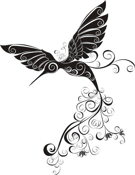 540x700 Hummingbird Tattoo Meaning