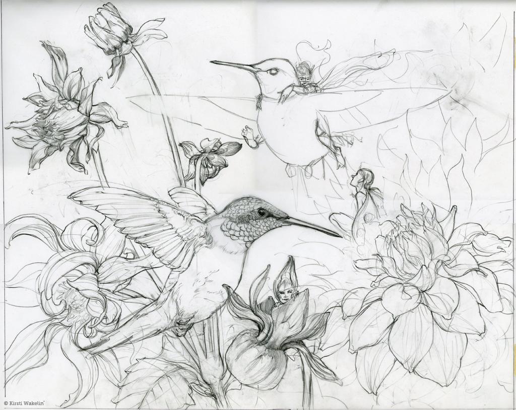 1024x814 Birds, Bees Amp Butterflies Kirsti Wakelin