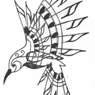 320x320 Hummingbird Tattoo Design Sketch Tattoomagz Com Designs Most