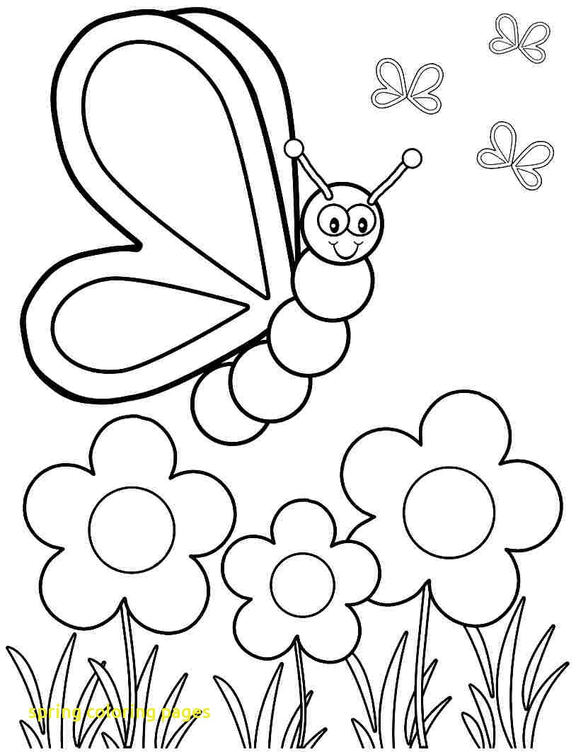 814x1062 Spring Coloring Pages With Spring Coloring Pages For Preschoolers