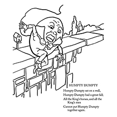 Humpty Dumpty Drawing