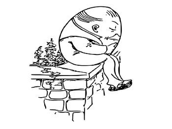 350x263 Humpty Dumpty Coloring Pack By Steven's Social Studies Tpt
