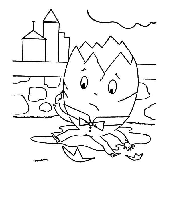 Humpty Dumpty Drawing at GetDrawingscom Free for personal use