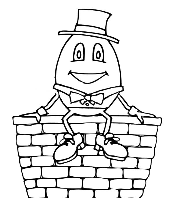 Humpty Dumpty Drawing at GetDrawings.com | Free for personal use ...