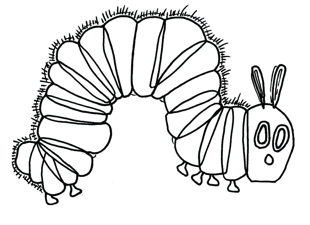 Hungry Caterpillar Drawing at GetDrawings.com | Free for ...