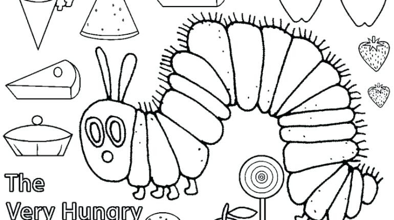 graphic relating to Caterpillar Printable named Hungry Caterpillar Drawing at  Free of charge for