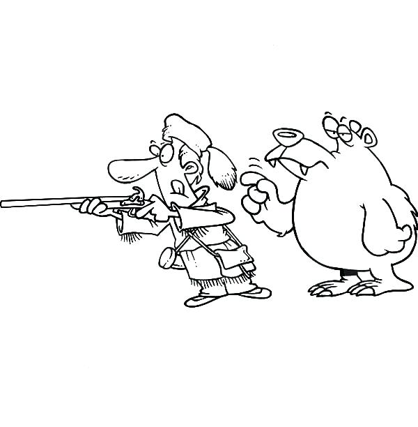 600x612 On A Hunt Coloring Page Going On A Bear Hunt Coloring Pages Bear