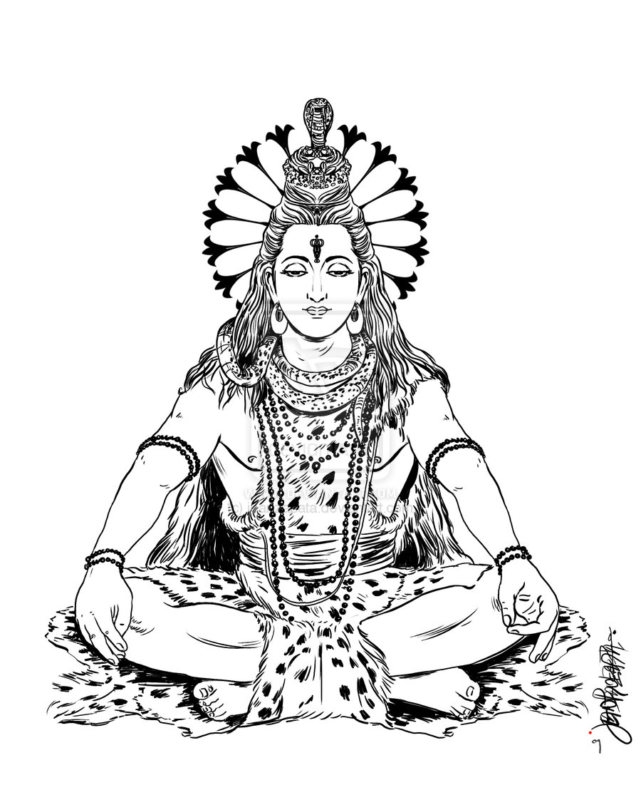 900x1129 Shiva Sketch Drawing Images International Shiva Art Hunt