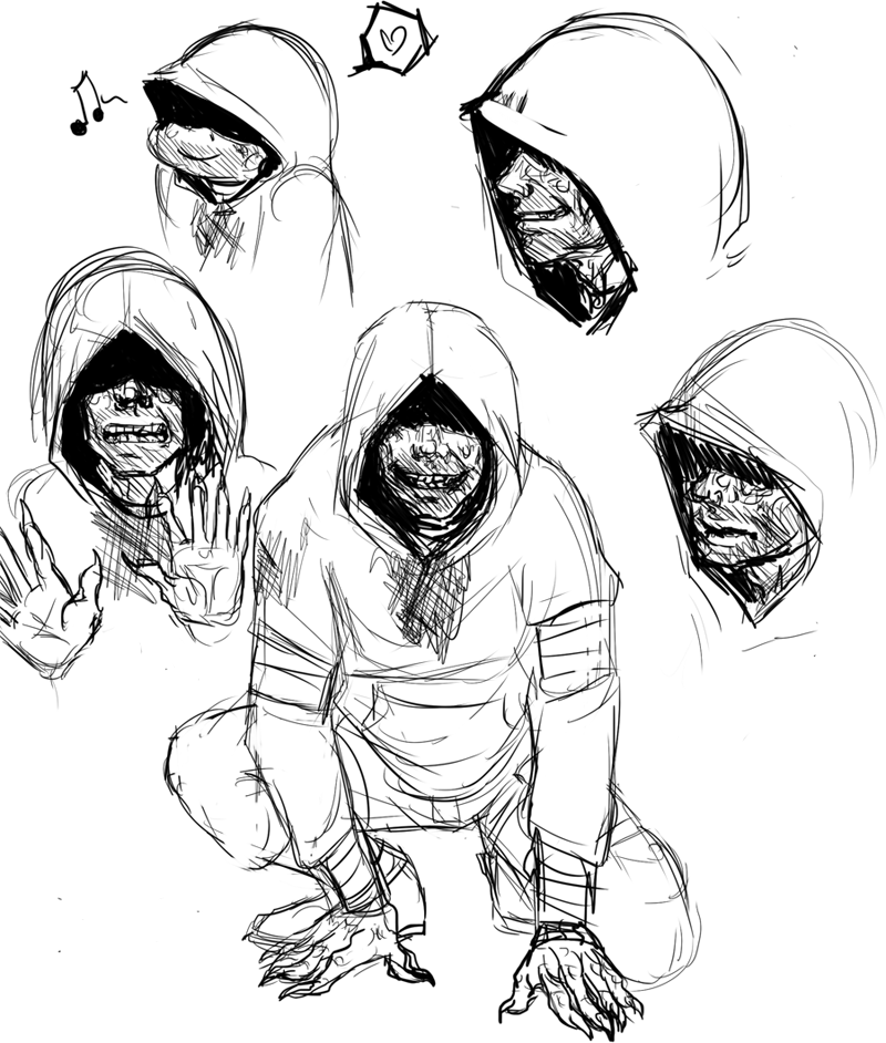 800x942 Hunter Sketches By Ippylovesyou
