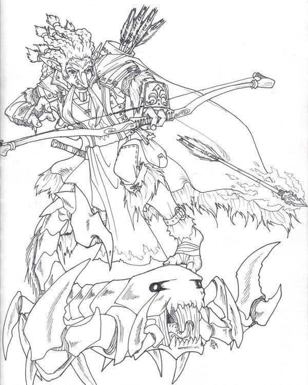 600x750 Kymeira The Troll Hunter By Banditfrosty