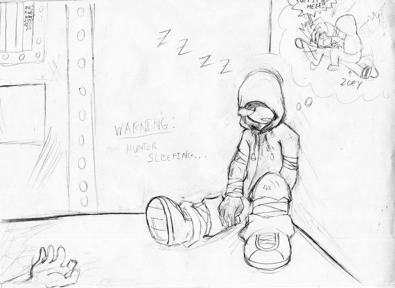 1280x933 L4d Sleeping Hunter By Wargreymon43