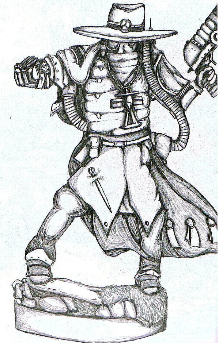 715x1118 Witch Hunter Drawing By Instantgang