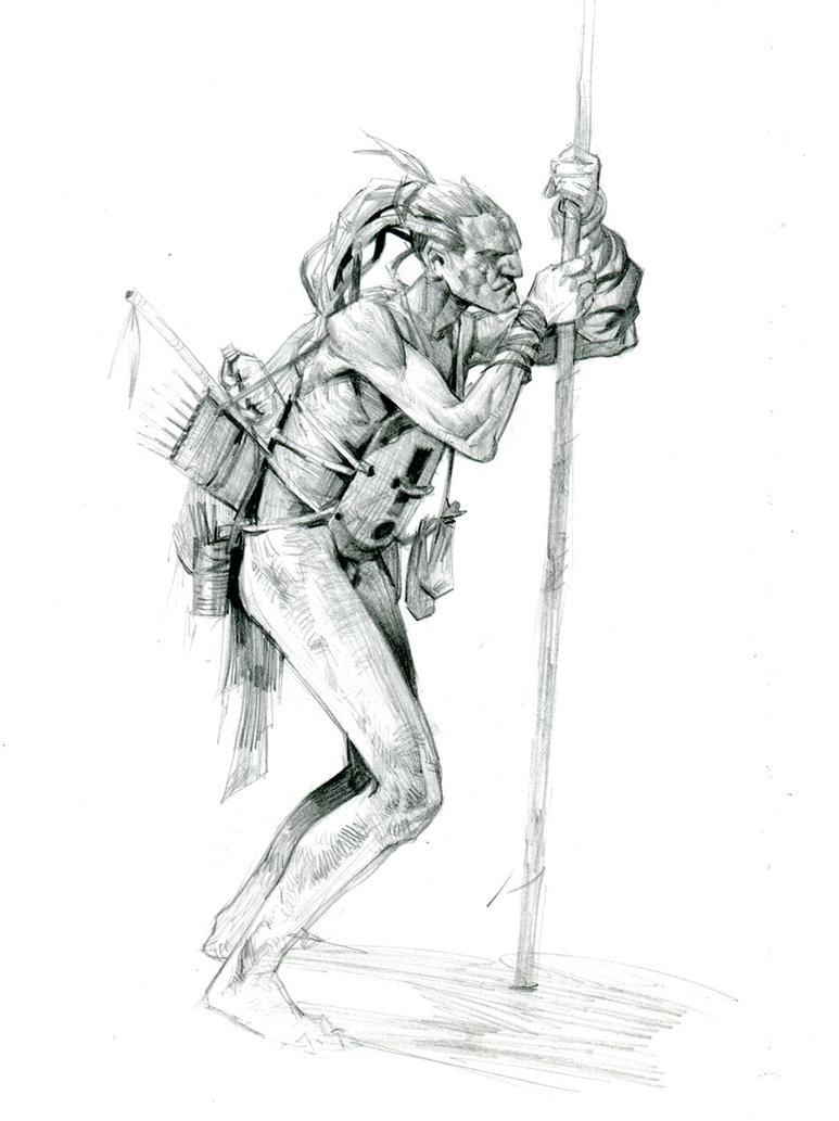 773x1033 Tribal Hunter By Jastorama