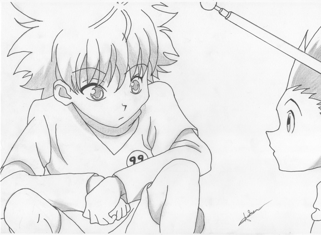 The Best Free Gon Drawing Images  Download From 25 Free