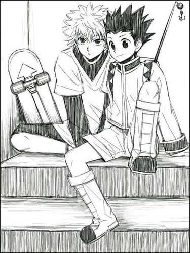 375x500 Hunter X Hunter Images Gon And Killua Wallpaper And Background