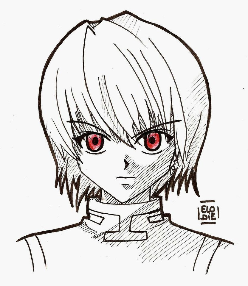832x961 Hunter X Hunter Kurapika By Neko Tine