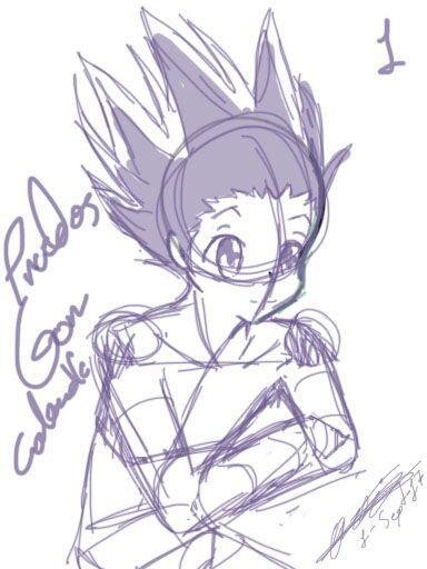 384x512 Sketch Of Gon Hunter X Hunter Amino