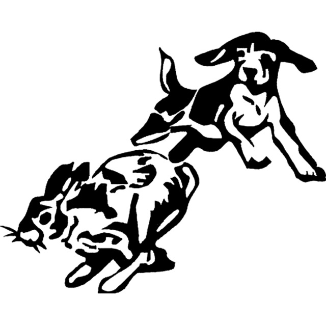 Hunting Dog Drawing