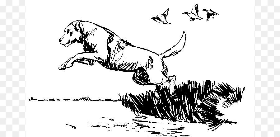 900x440 Beagle Hunting Dog Bird Clip Art