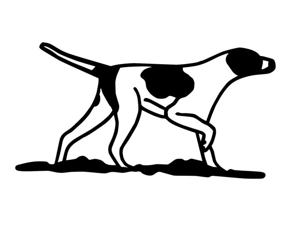 570x456 Hunting Dog Decal , Geese Hunting Sticker , Retriever Lab Hunting
