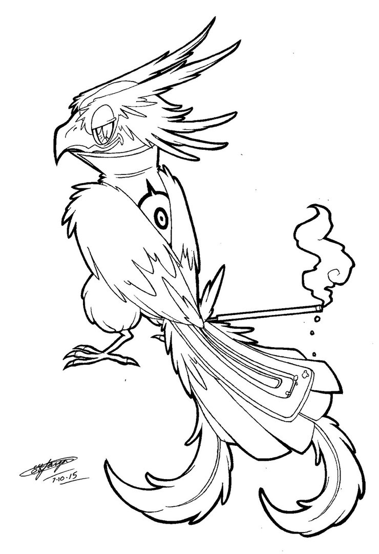 740x1080 My Incense Tailed Bird Hybrid Oc. 3 By Shannonxnaruto