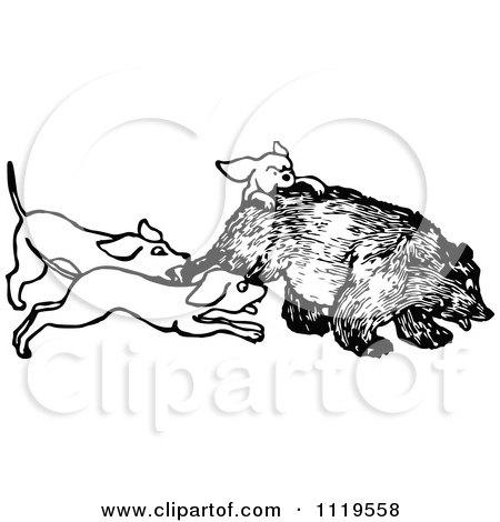 450x470 Royalty Free (Rf) Hunting Dog Clipart, Illustrations, Vector