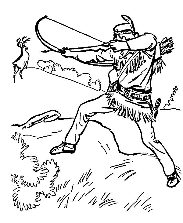 600x734 Astonishing Hunting Coloring Pages 96 For Your Gallery Coloring